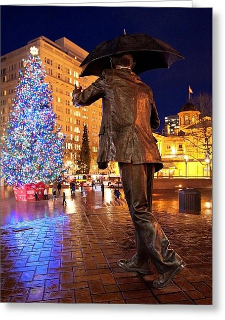 A Very Portland Christmas Greeting Card