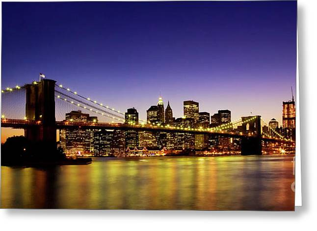 A View From Brooklyn Greeting Card
