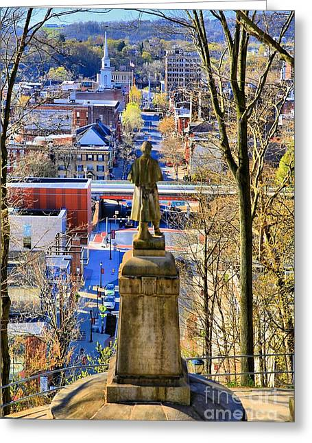A View From College Hill Greeting Card