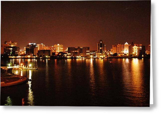 A View From The Bridge Greeting Card by Amanda Vouglas