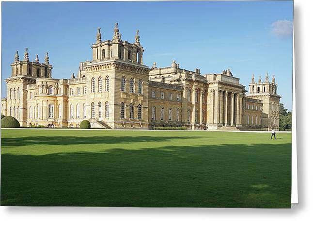 Greeting Card featuring the photograph A View Of Blenheim Palace by Joe Winkler