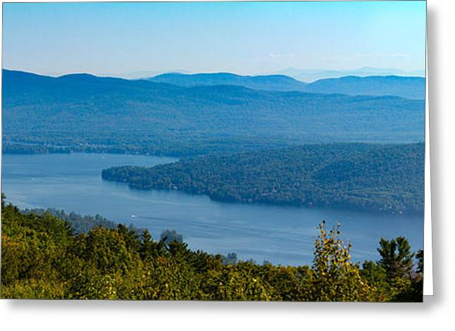 Prospects Greeting Cards - A View of Lake George  Greeting Card by Brian Caldwell