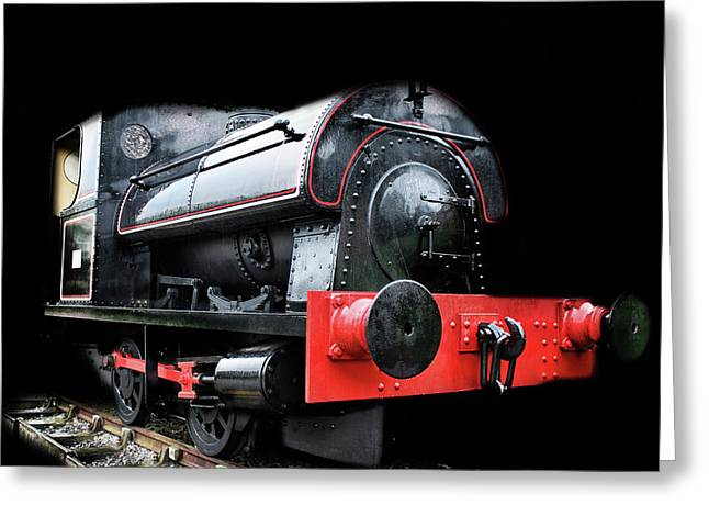 A Vintage Steam Train Greeting Card