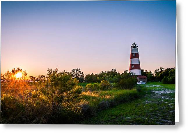 A Visit To The Sapelo Island Lighthouse Greeting Card