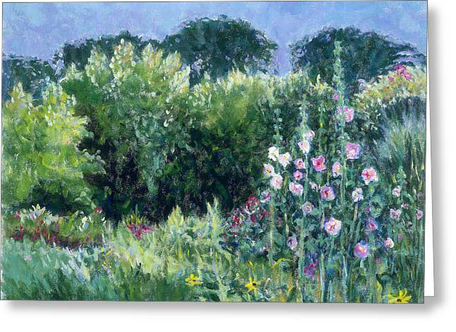 A Walk In The Garden Greeting Card