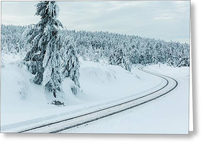 A Way In The Magic Winter Wonderland Greeting Card