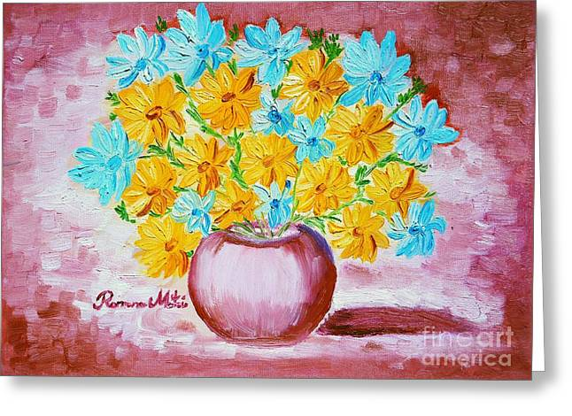 A Whole Bunch Of Daisies Greeting Card