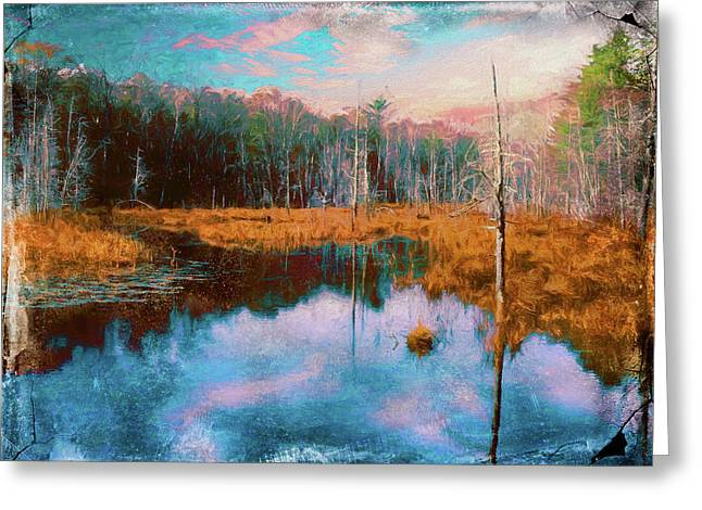A Wilderness Marsh Greeting Card
