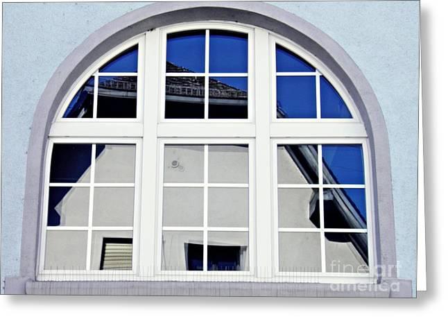 A Window In Wiesbaden Greeting Card