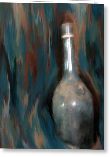 A Wine To Remember Greeting Card by Lisa S Baker