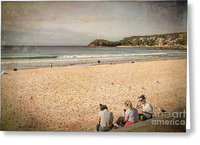 Greeting Card featuring the photograph A Winter's Day In Manly by Elaine Teague