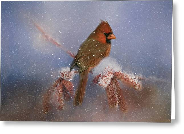 Greeting Card featuring the photograph A Winters Day by Lana Trussell