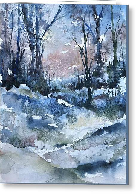 A Winter's Eve Greeting Card