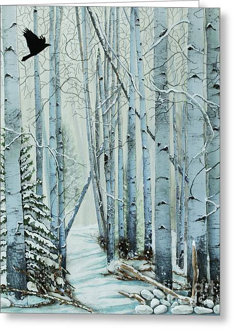 A Winter's Tale Greeting Card