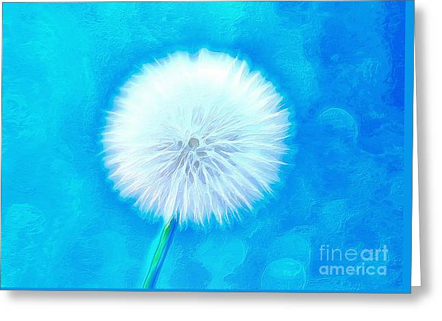 A Wish For You Greeting Card by Krissy Katsimbras