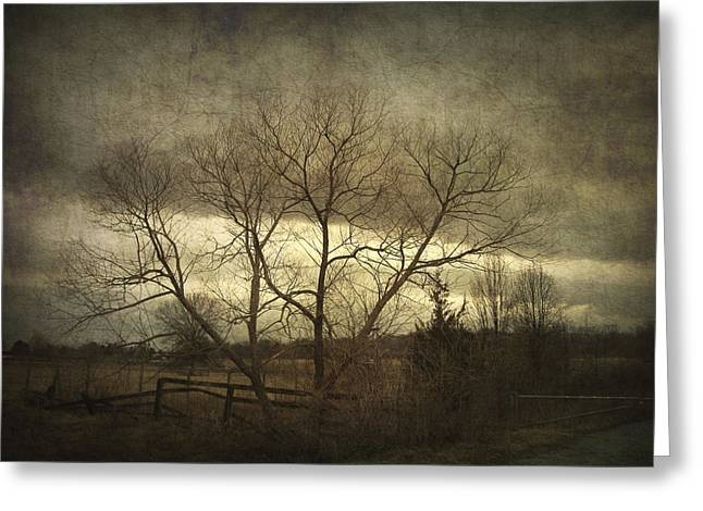 A Wyeth Landscape Greeting Card