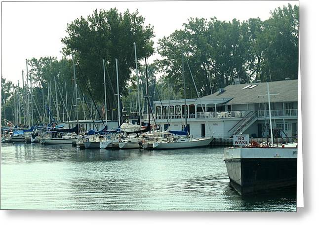 A Yacht Club Greeting Card