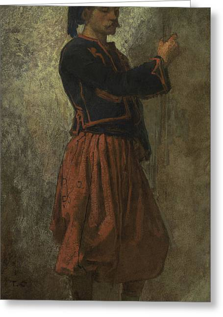 A Zouave Greeting Card