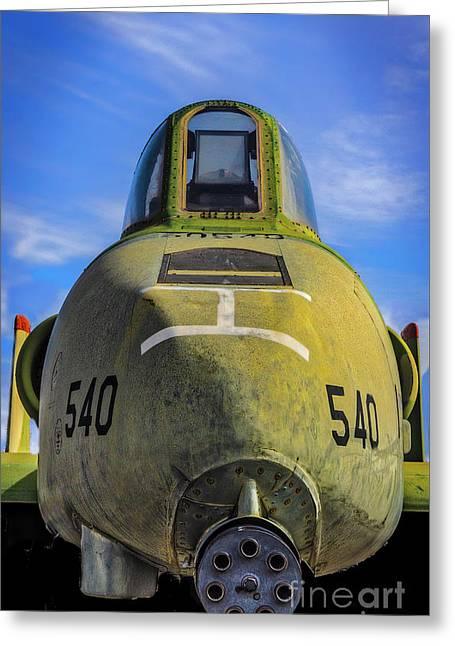 A10 Warthog Greeting Card
