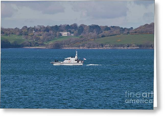 A130 Hms Ranger  Greeting Card