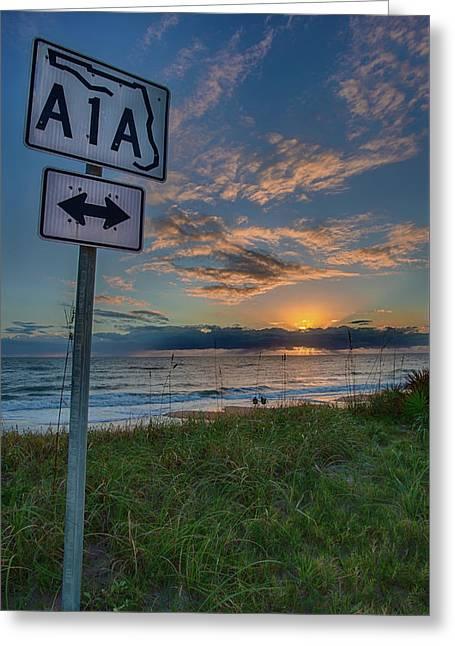 A1a Sunrise Greeting Card