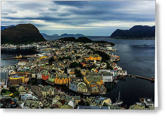 Aalesund Greeting Card