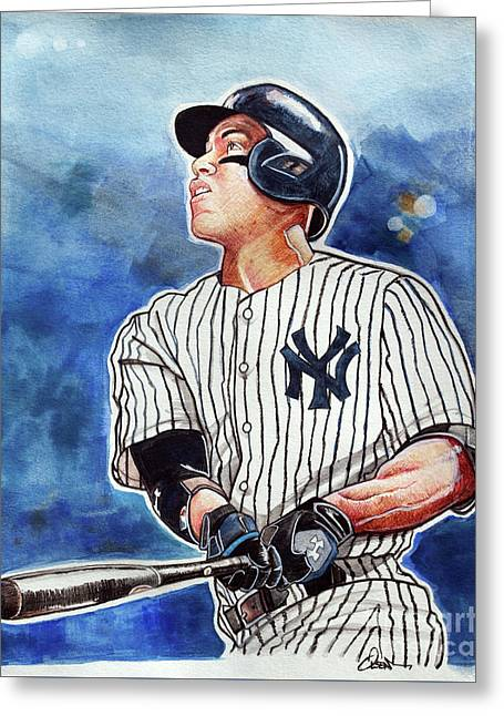 Aaron Judge Greeting Card