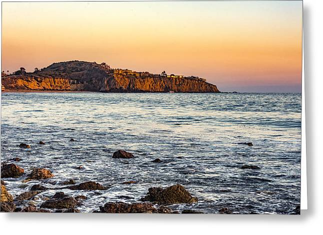 Greeting Card featuring the photograph Abalone Point Sunset by Anthony Baatz