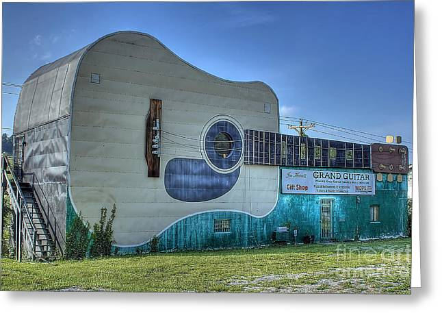 Abandon Country Music Museum Greeting Card