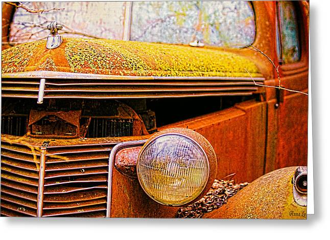 Abandoned Antique Truck 2 Greeting Card