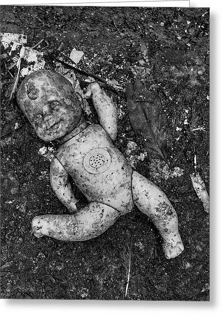 Greeting Card featuring the photograph Abandoned But Happy by Amarildo Correa