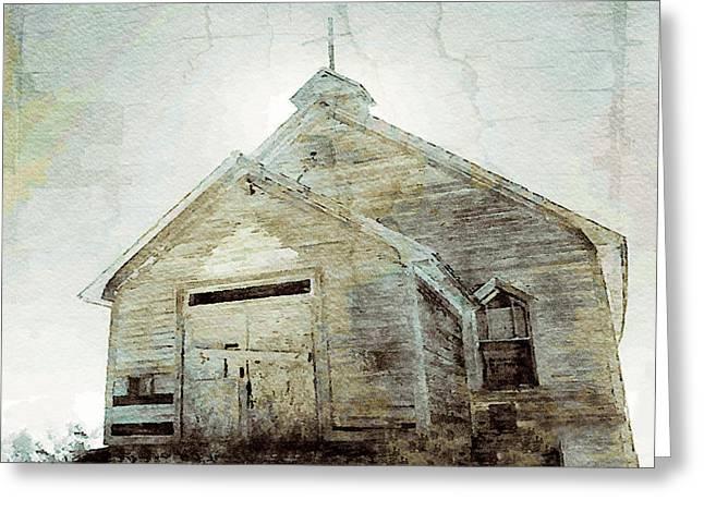 Abandoned Church 1 Greeting Card