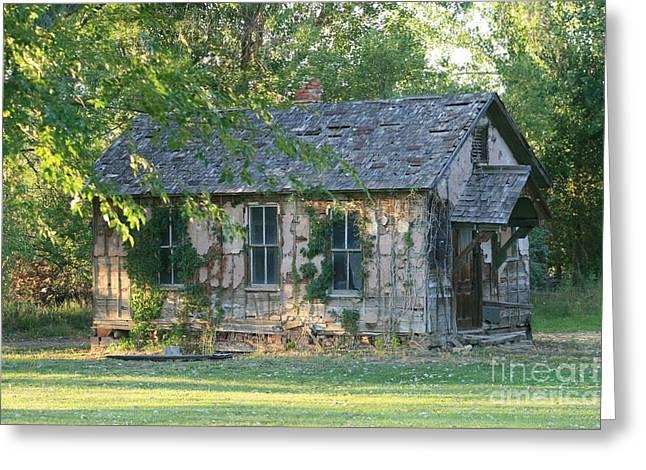 Abandoned Cottage Greeting Card