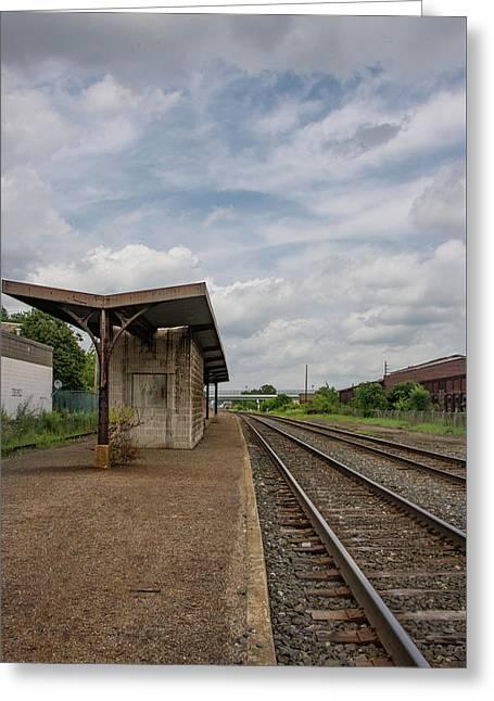 Abandoned Depot Greeting Card