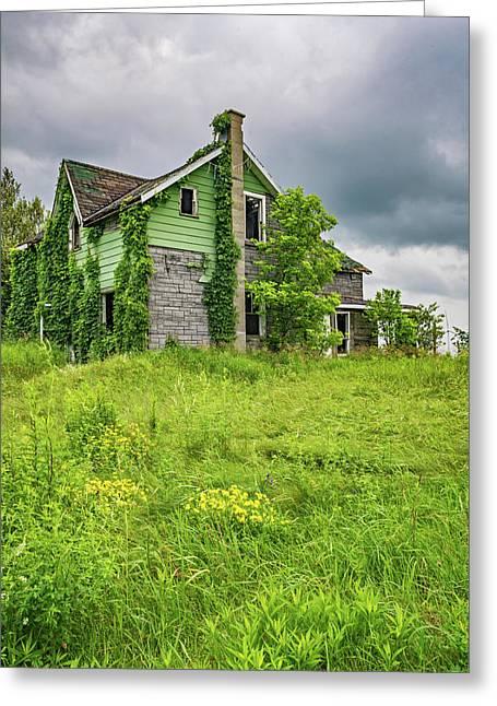 Abandoned Dreams 2 Greeting Card
