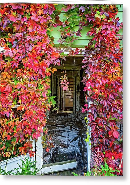 Abandoned Dreams - Autumn 4 Greeting Card