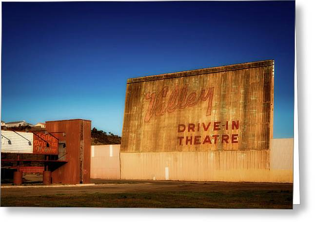 Abandoned Drive - In Theatre Greeting Card