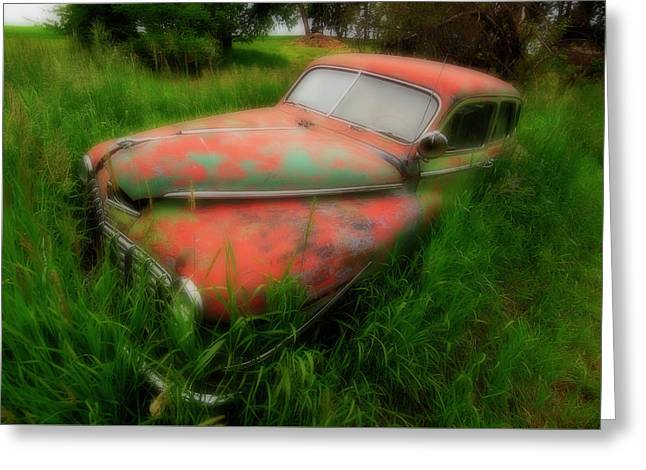 Abandoned In The Palouse Greeting Card