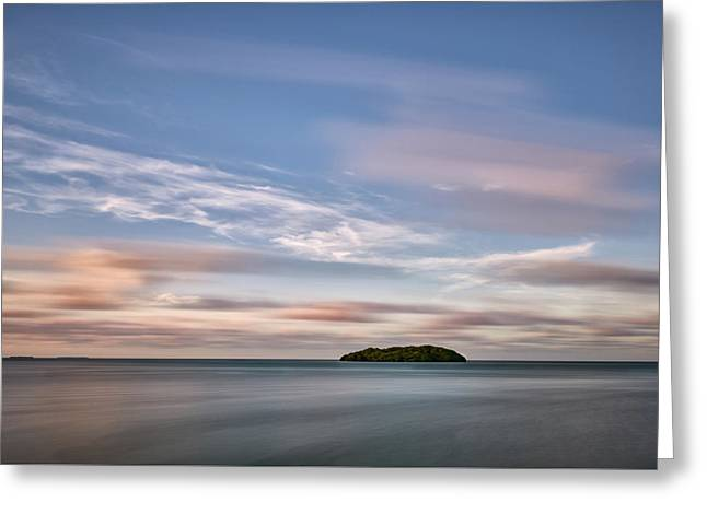 Greeting Card featuring the photograph Abandoned Key by Jon Glaser