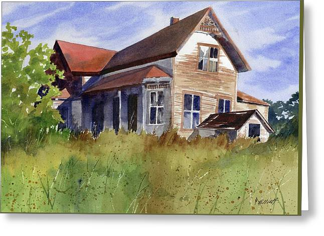 Abandoned Greeting Card by Marsha Elliott