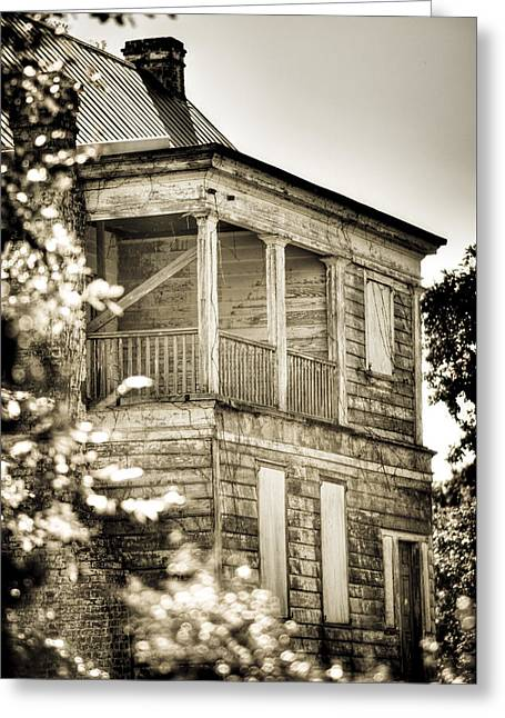 Abandoned Plantation House #4 Greeting Card by Andrew Crispi