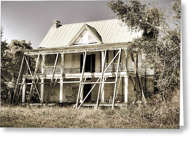 Abandoned Plantation House #2 Greeting Card by Andrew Crispi