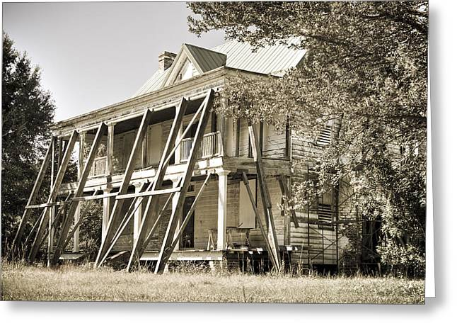 Abandoned Plantation House #3 Greeting Card by Andrew Crispi