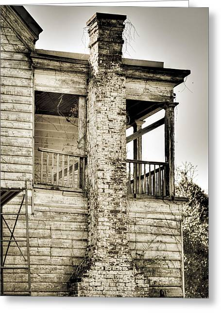 Abandoned Plantation House #5 Greeting Card by Andrew Crispi