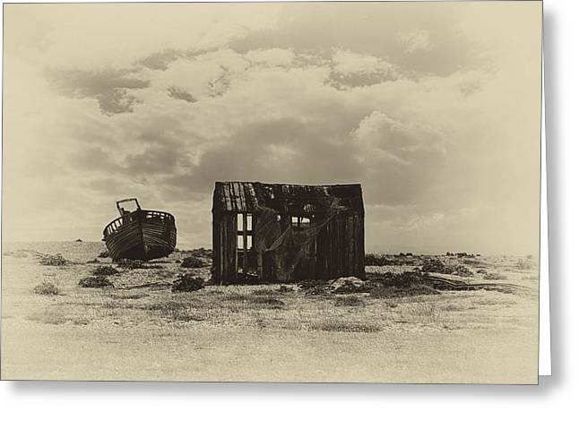 Abandoned Relics Greeting Card by Sharon Lisa Clarke