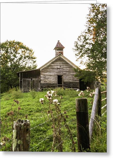 Abandoned School House Greeting Card by Lisa Lemmons-Powers