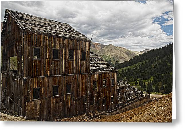 Abandoned Silver Mine Greeting Card