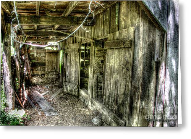 Abandoned Stable Greeting Card