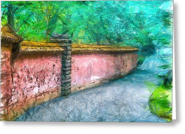 Abby Aldrich Rockefeller Garden Pencil Greeting Card