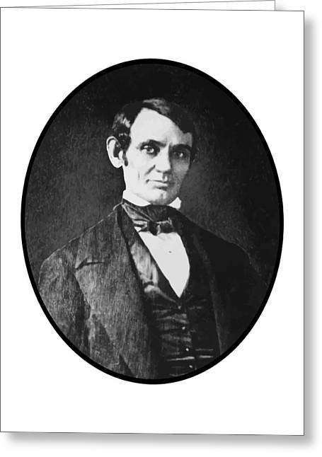 Abe Lincoln As A Young Man  Greeting Card